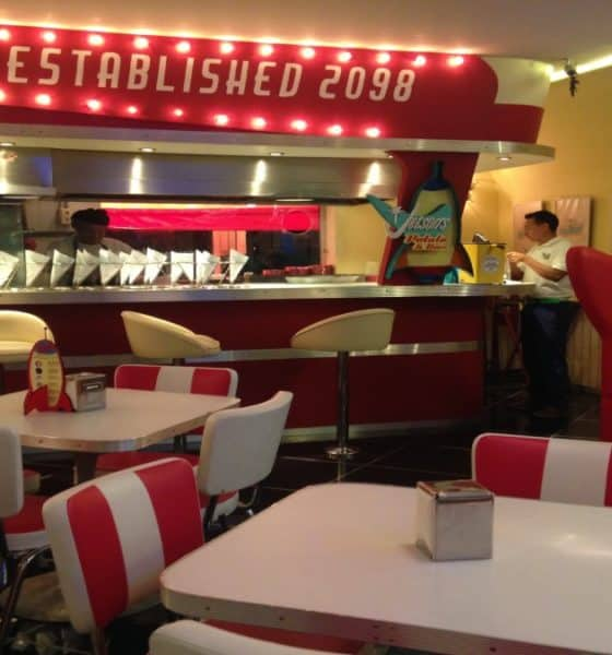 El restaurante del pasado viendo al futuro. Foto: malenynavarro.wordpress.com