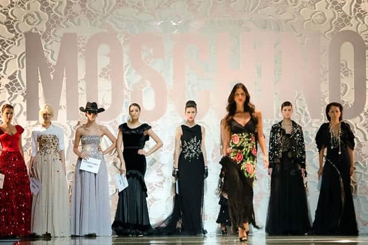 Grandes ponente de la moda.Foto.Noticiero 90 Minutos.2