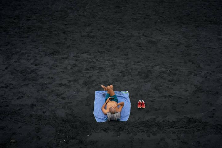 Playas con arena negra. España. Foto. Tim Trad 5