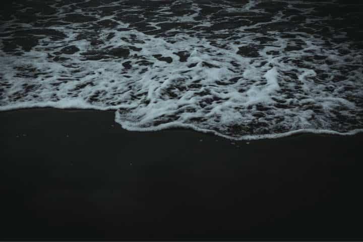 Playas con arena negra. España. Foto. Veronica 6A