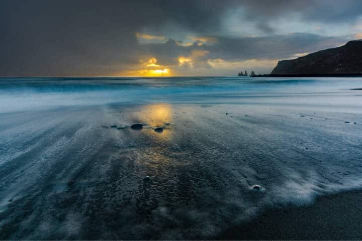Playas con arena negra. Islandia. Foto. Bejamin 4