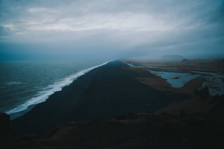 Playas con arena negra. Islandia. Foto. Tim Trad 2
