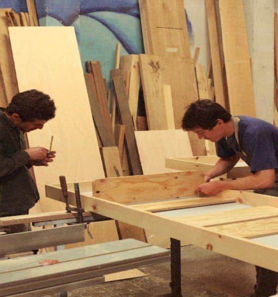 Proceso de elaboración. Foto: nolandseyewear.com