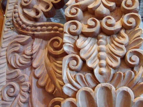 arte colonial en madera fonart