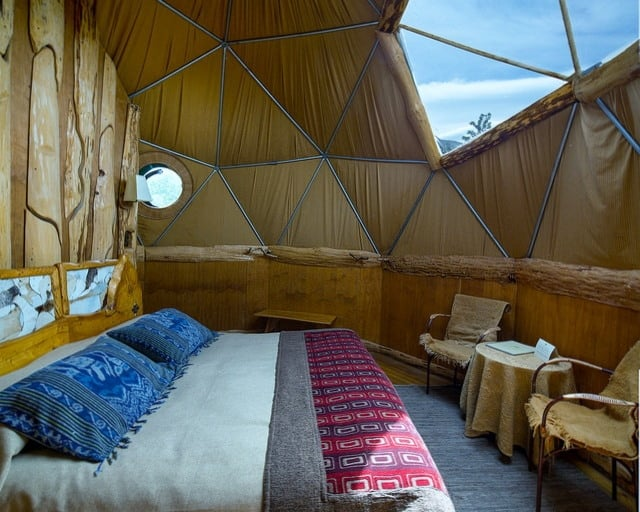glamping suiza. Foto: Archivo