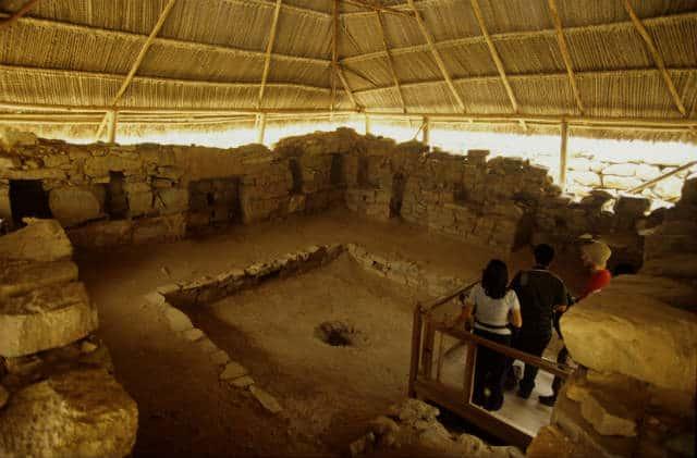 kotosh o templo de las manos cruzadas.Imagen:Peru.Archivo