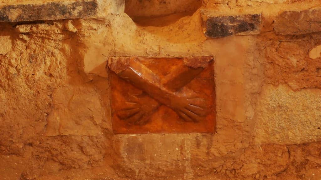 kotosh templo de las manos cruzadas