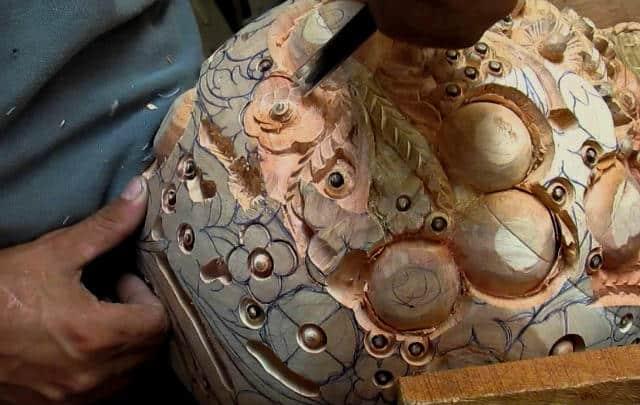 talla en madera labrado michoacan