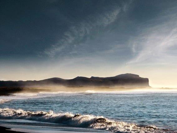 vik islandia playa