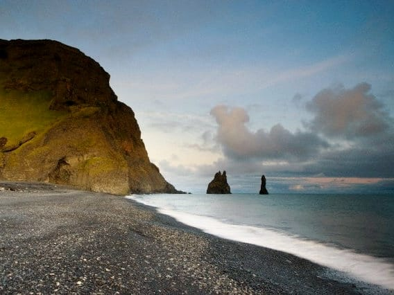 vik islandia horizonte