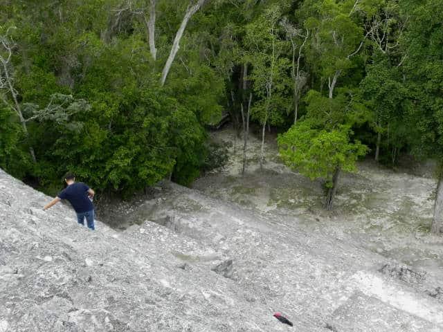 Calakmul descenso