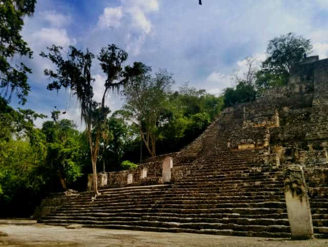 Calakmul templo