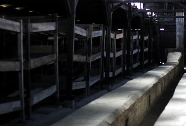 Camas Auschwitz Nick Perrone copyright