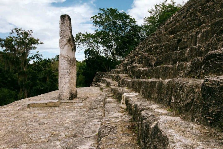 Curiosidades de Calakmul. Foto. Travesías