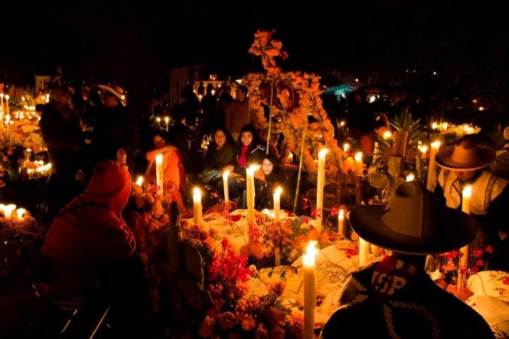 Día de Muertos en Janitzio. Imagen: Daniel Olguin.