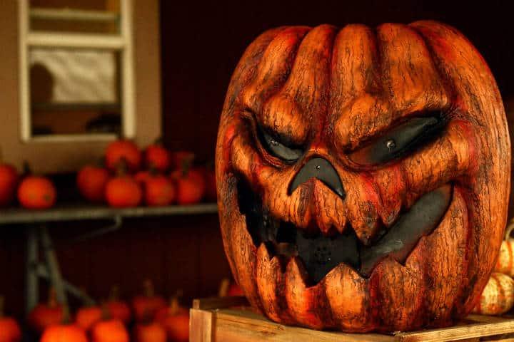 """""""Feliz Jack"""" en Halloween. Estados Unidos. Foto: Nicole Edelbrock"""
