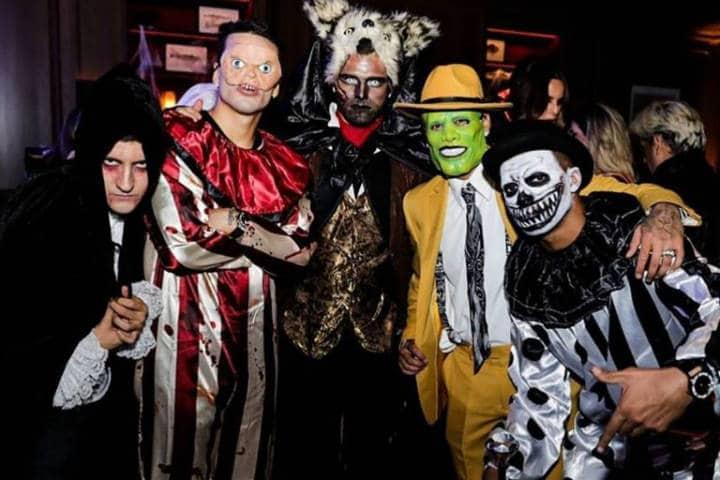 Fiesta de Halloween. Foto: Archivo