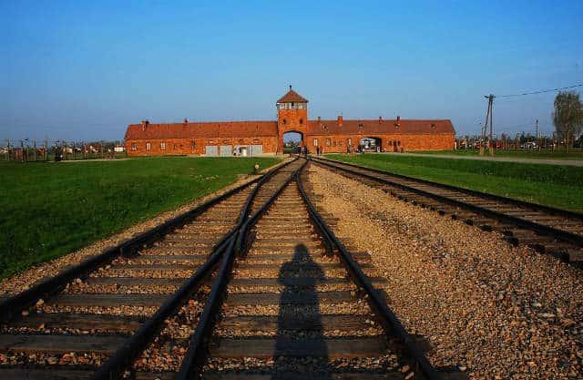 Llegada Auschwitz Jordi Escuer