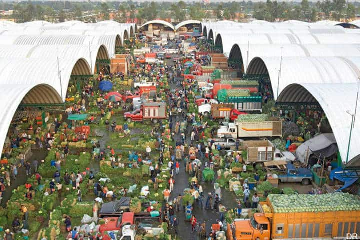 Mercados tradicionales en la CDMX. Imagen Berserker 2