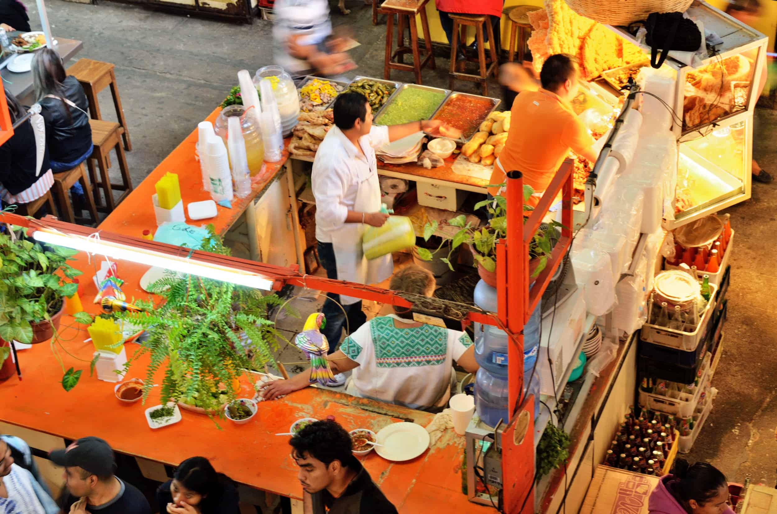 Mercados tradicionales en la CDMX. Imagen. Net 1