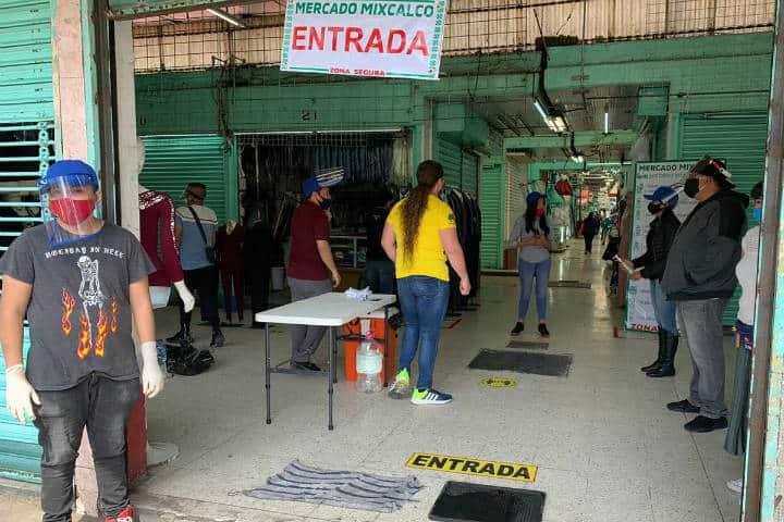 Mercados tradicionales en la CDMX. Imagen. Ocho 3