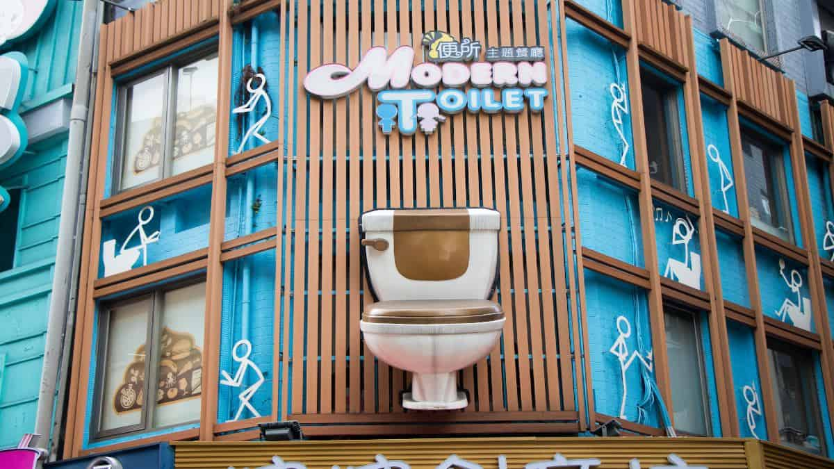 Modern toilet. Foto: toilography.com