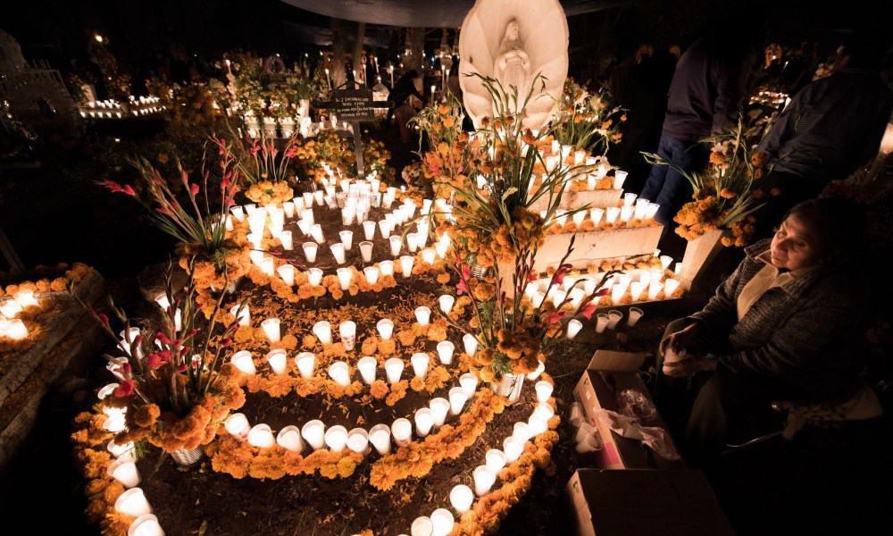 Noche de Muertos. Imagen. Gallo. 3