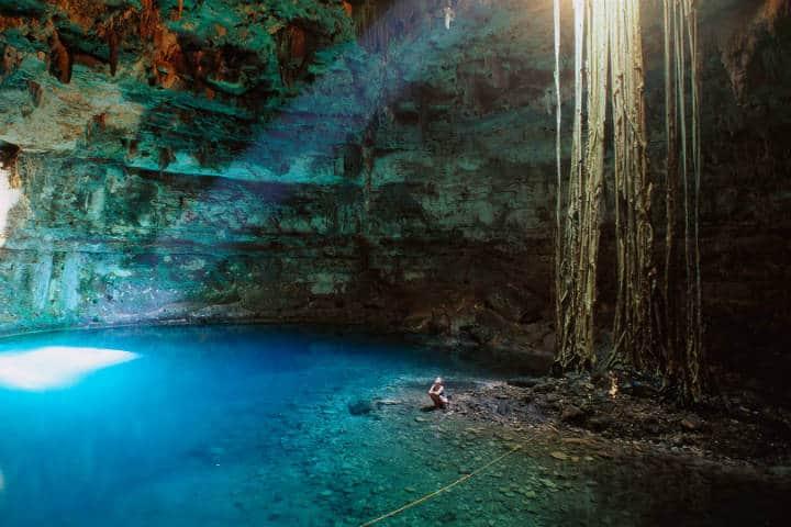 Recorrido en Cenotes de Yucatán. Imagen. Half Dot 4