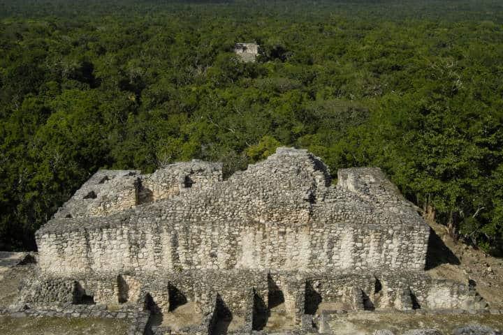 Visita en Calakmul.Foto.Lugares INAH.14