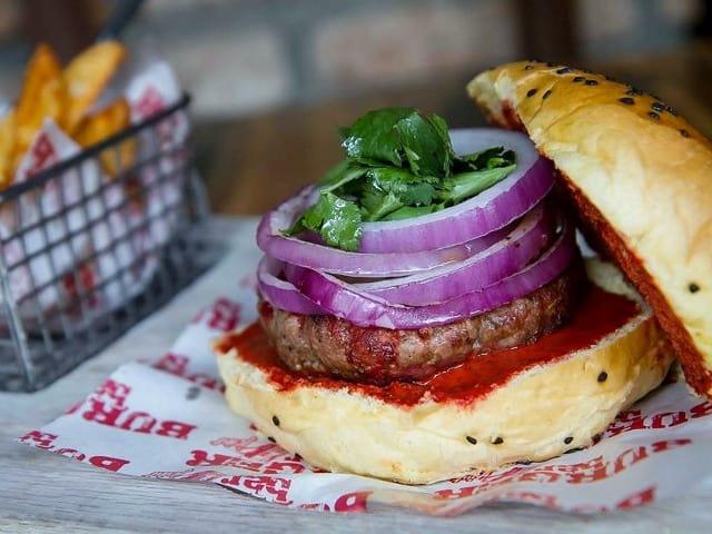 hamburguesa al pasor