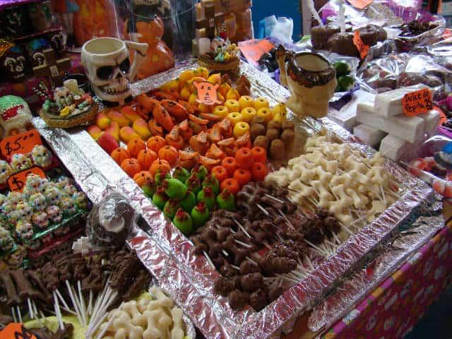 huesitos y dulces calaveritas Jorge Nava