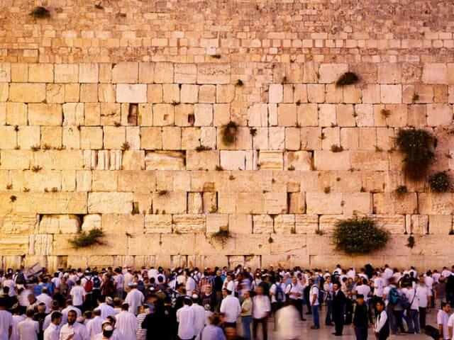 multitud muro de los lamentos