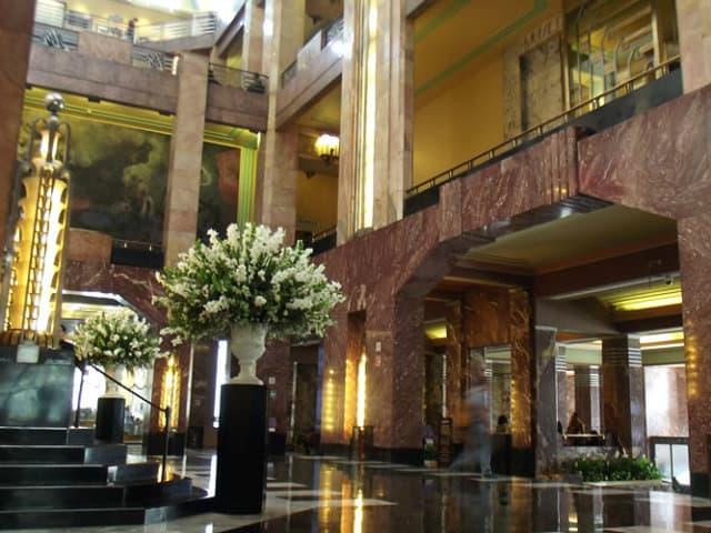 palacio de bellas artes escalera