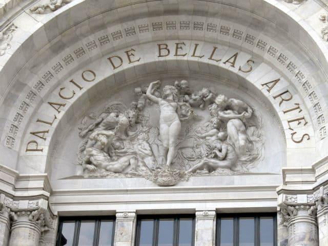 palacio de bellas artes fachada
