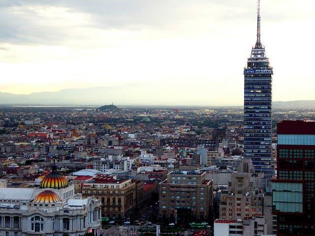 palacio de bellas artes torre latino