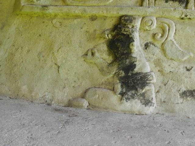 estuco ruinas comalcalco