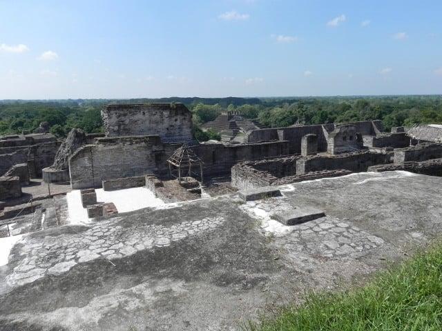 ruinas comalcalco aerea