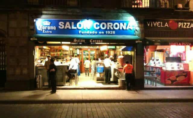 salon corona fachada