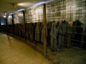 uniformes Auschwitz