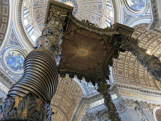 vaticano interior san pedro