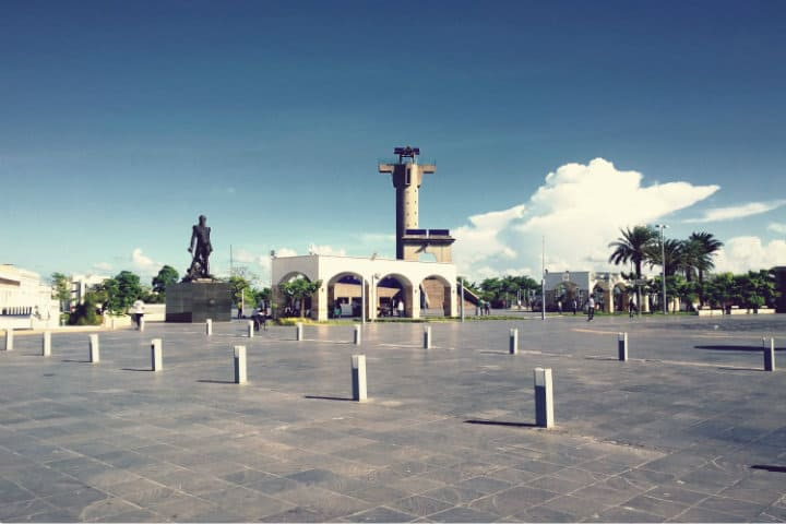 Plaza de armas. Imagen: Tabasco. Archivo
