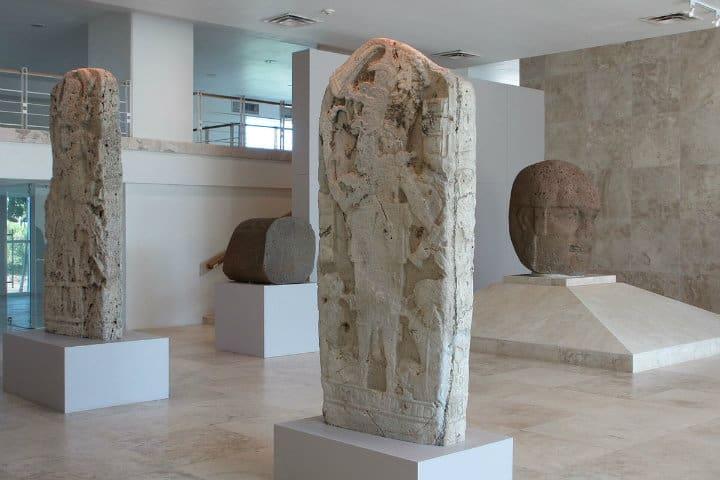 Estatuas museo. Imagen: Villermosa. Archivo