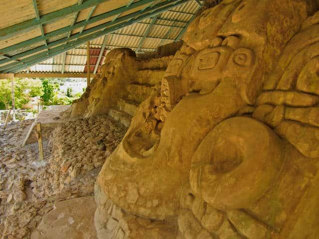 Acanceh templo Graeme Churchard