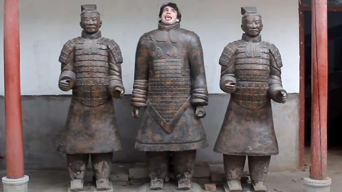 Bailando por todo China- Archivo