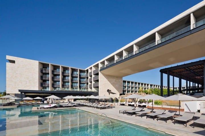 Grand Hyatt en Playa del Carmen. Foto: archadaily.mx