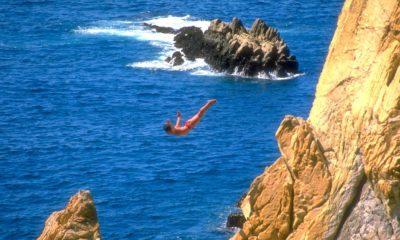 La quebrada, Acapulco. Imagen. Yo sí creo en México.