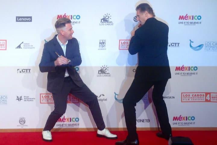 Liam Neeson invitado especial del Festival.Foto.Twitter.4