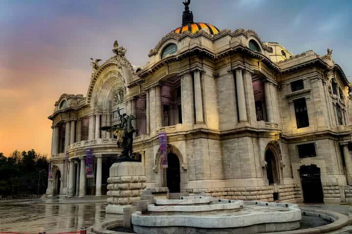 Palacio de Bellas Artes. CDMX. Foto: Jeremy Michael