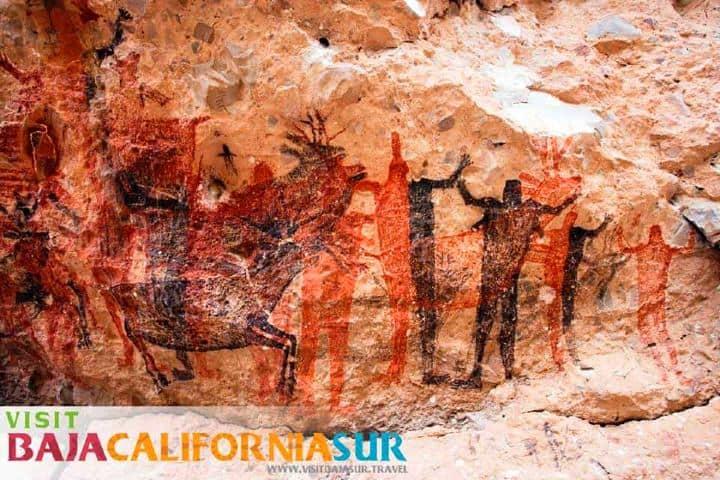 Pinturas rupestres. Imagen. Archivo.