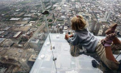 Pisos de vidrio en el mundo. Los 10 más alucinantes del mundo. Portada. Imagen. Archivo